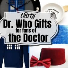 Dr. Who Gifts for Fans of the Doctor