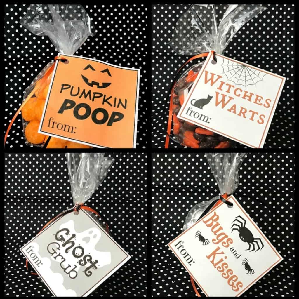 Free Printable Halloween Goodie Bag Labels Nerdy Mamma