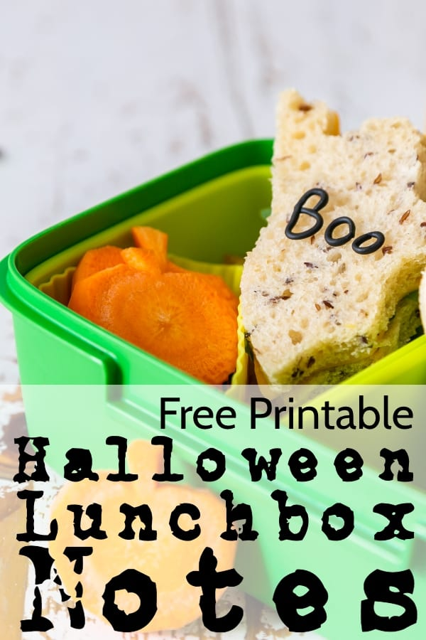 There's nothing I love more than cutting a cute and perfect little PB&J just for my kid to throw away later. But! At least I'm having a blast while I do it, right?! Right. And this month, I'm leaving a little note with my Frankenstein Sammies with these Free Printable Halloween Lunchbox Notes. #nerdymammablog #halloween #freeprintable #lunchboxnote