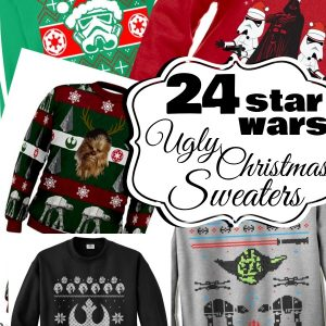 Star Wars Ugly Christmas Sweaters
