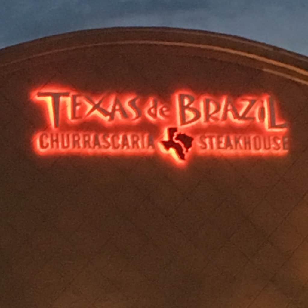 Texas de Brazil sign