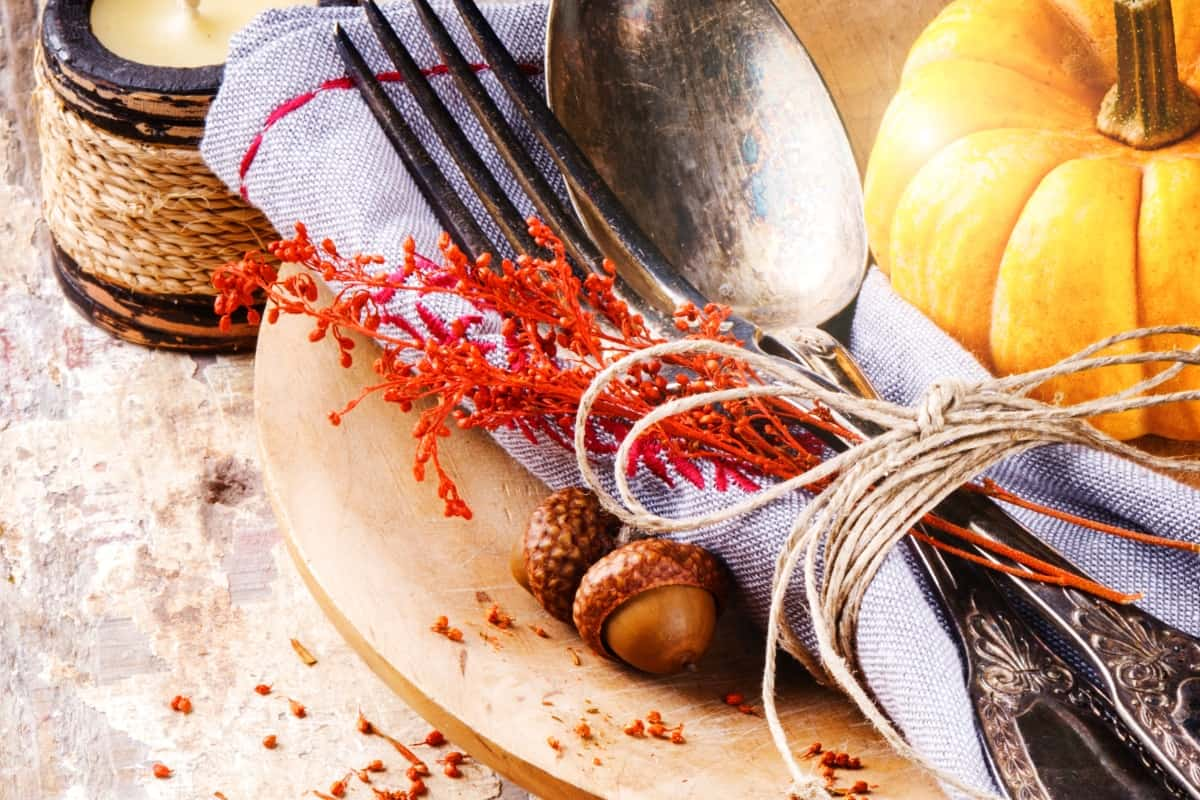 Hosting Thanksgiving dinner can be a little daunting--especially when you whip-up a budget and see all those dollar signs for ONE MEAL. But it doesn't have to be that bad. Here's7 Tricks for Serving Thanksgiving on a Budget that really will bring down that bottom line. #nerdymammablog #thanksgiving #savingmoney