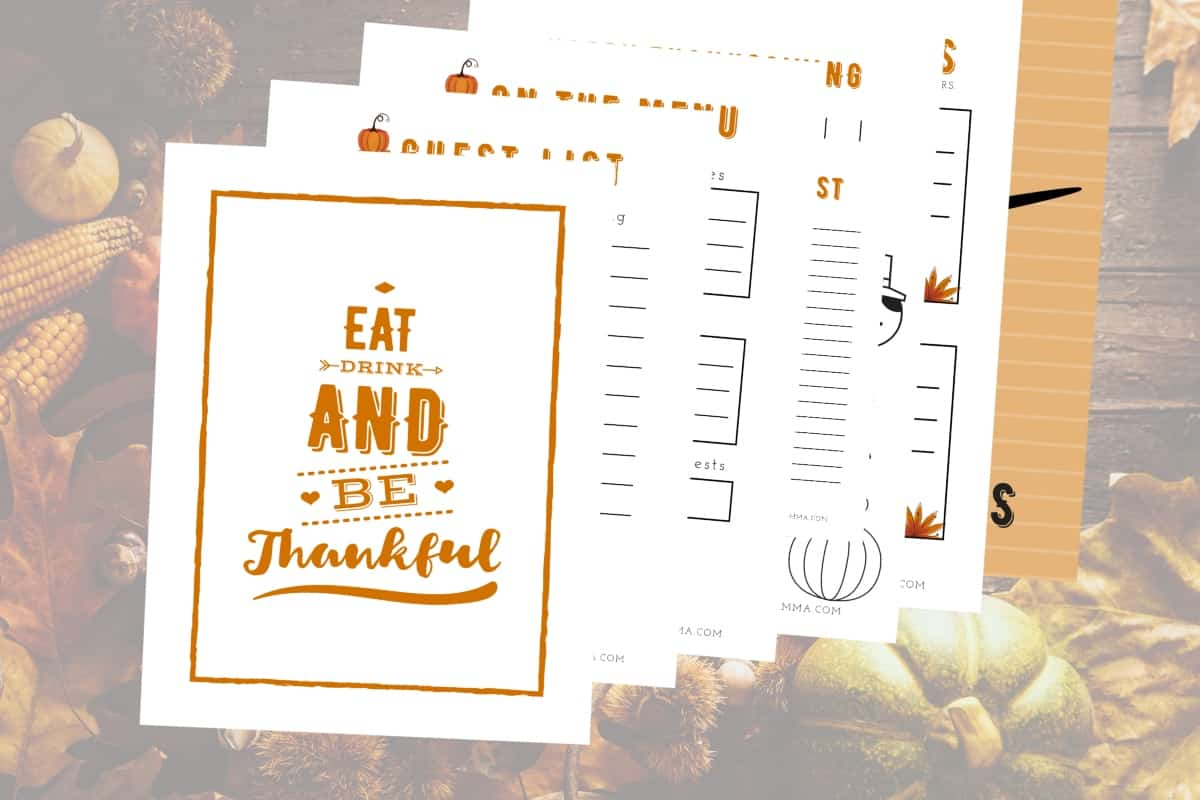 graphic about Thanksgiving Planner Printable identify Cost-free Printable Thanksgiving Planner - Nerdy Mamma