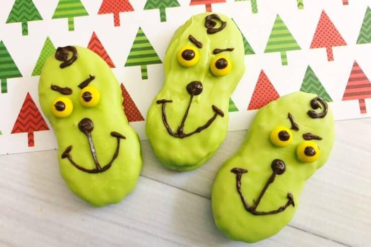 Grinch Nutter Butters