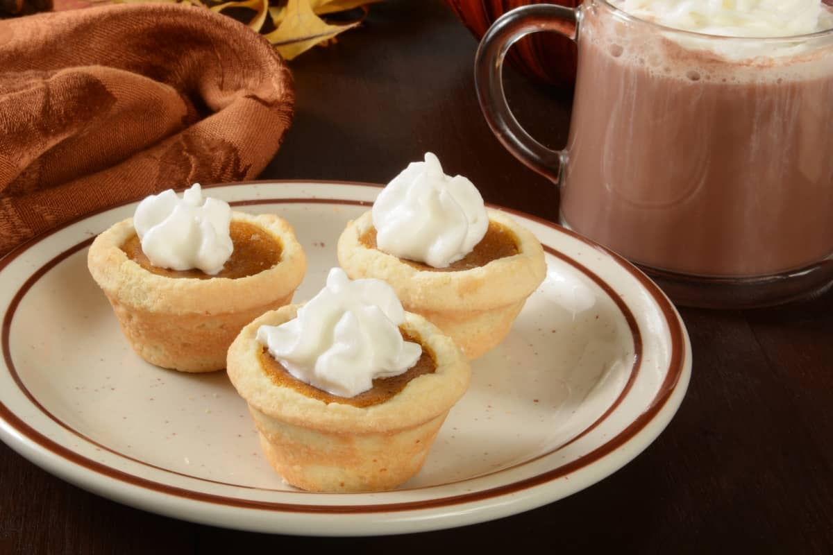 I really like mini-pies. They're a new obsession. So little, cute and simply adorable. Also, de-freakin-licious. So, I made these Mini Pumpkin Pies. Because yum. #nerdymammablog #pumpkinpie
