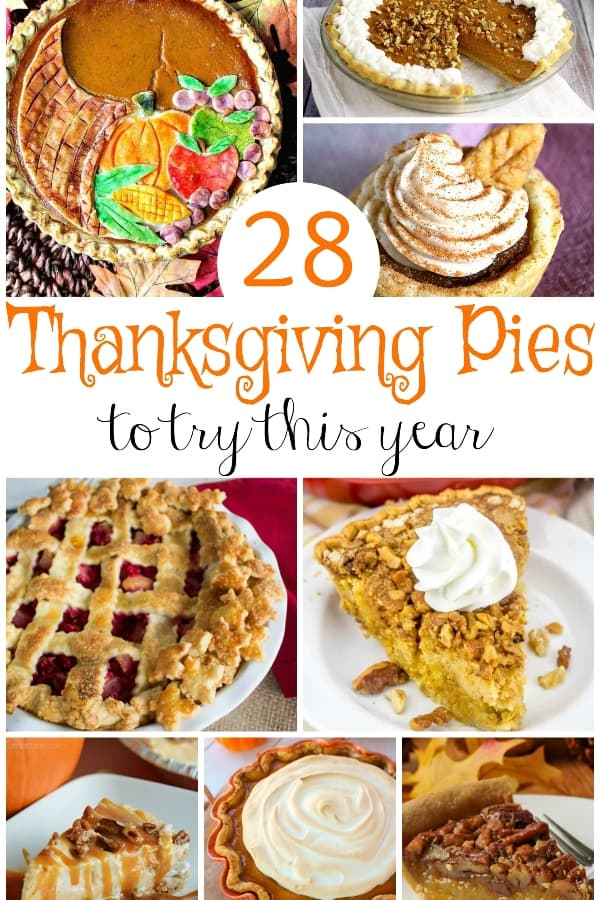 Secret love affair #1: Pie. Secret love affair #2: Trying new pie. This, my friends is a hand-picked set of 28 Thanksgiving Pies to Try this Year. Because pie is amazing. #nerdymammablog #pie