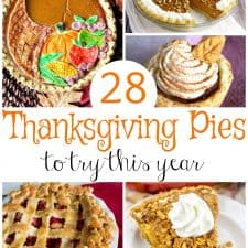 28 Thanksgiving Pies to Try this Year