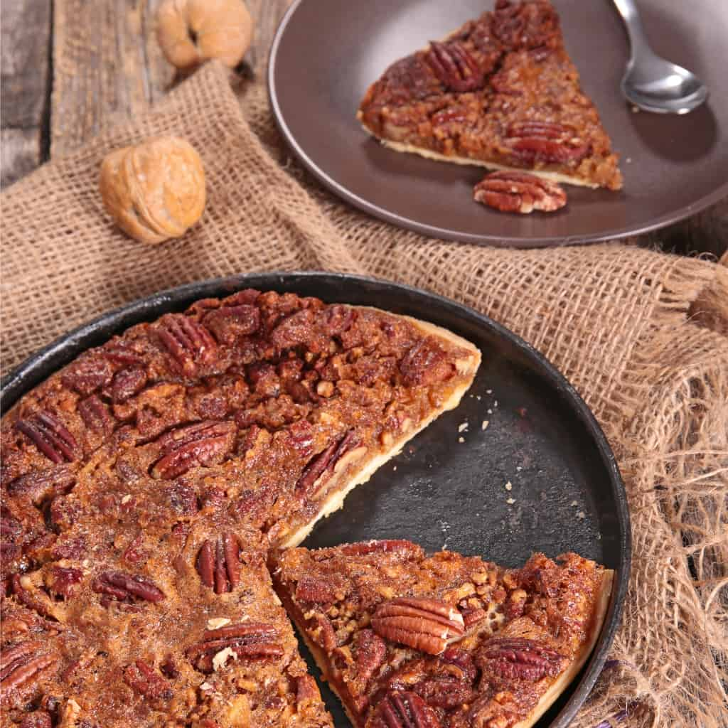 You know that recipe that, even when you were a kid, you always wanted to try making? But you were too afraid to do it--because mom's was so amazing. I finally did it. I borrowed mom's recipe box and I made a Traditional Pecan Pie. You're not going to believe how easy it is. #nerdymammablog #pecanpie