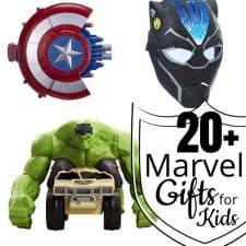 20+ Marvel Gifts for Kids