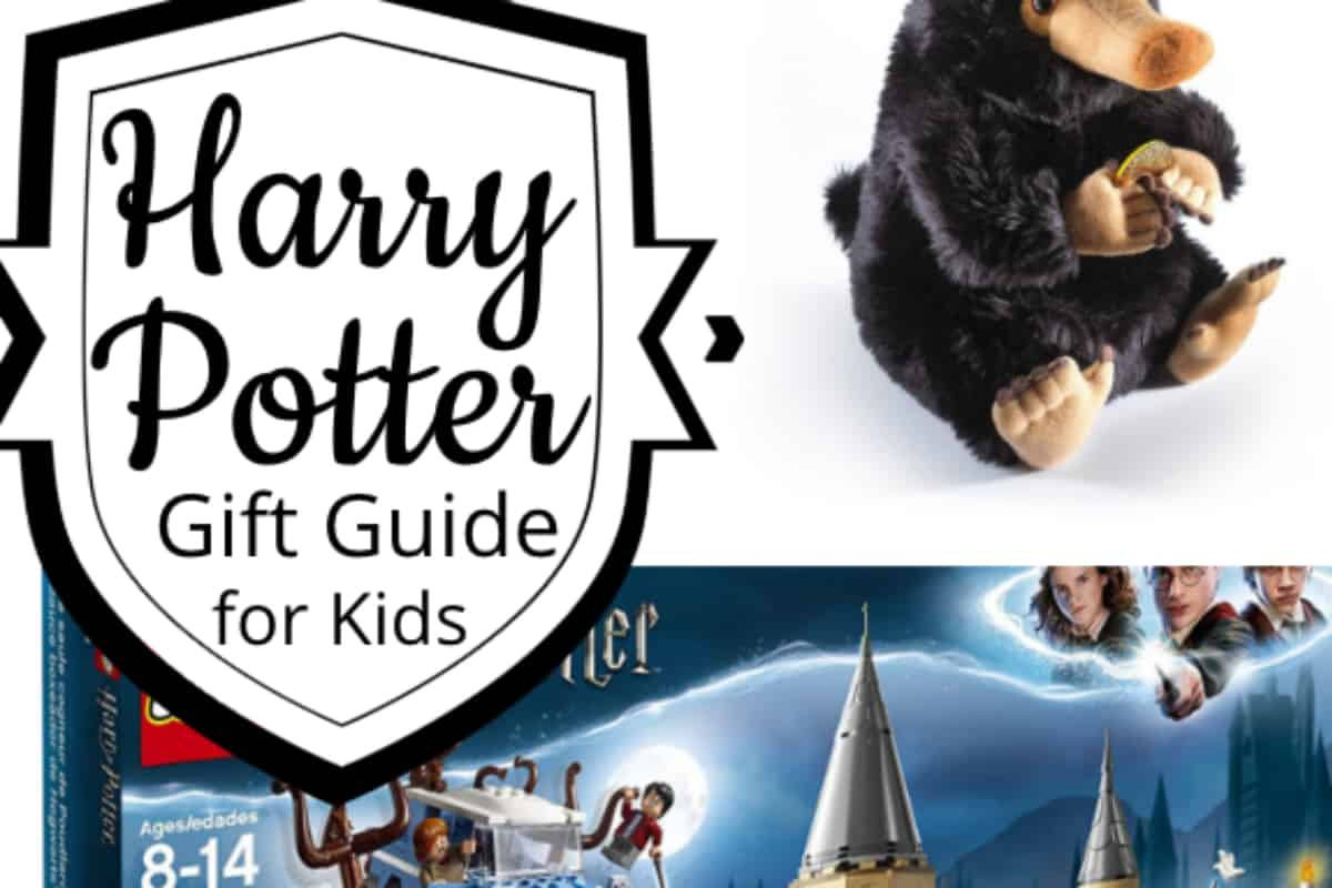 There are just times when you just need an easy Harry Potter Gift Guide for Kids. If the kid is on your list and you don't know what to get them--this is it. #nerdymammablog #harrypotter #giftguide