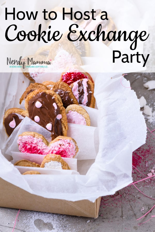 Look, I know we don't all know How to Host a Cookie Exchange Party--and sometimes it can be daunting. But this breaks it down so anyone can do it! #nerdymammablog #cookieexchange #party
