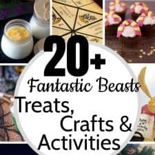 20 Simple Fantastic Beasts Treats & Crafts & Activities