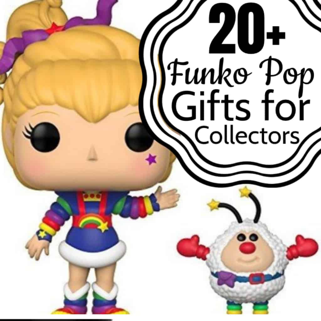 You know you have one--if you're a real nerd or geek, you do. And if you don't, the nerdy geek in your life has one. And here's what you get them--one of these 20 + Funko Pop Gifts for Collectors. Guaranteed happy every time. #nerdymammablog #giftguide #funkopop