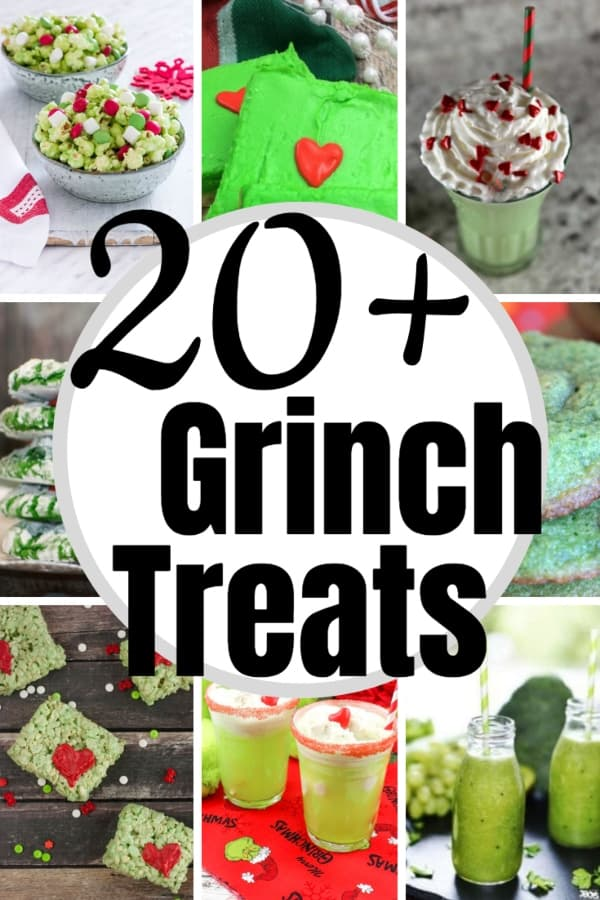 He's a mean one, that Mr. Grinch. But you don't have to be a sad and lonely soul while you binge a movie (or two) about the big-green-meanie. Nope. Just make one of these 20+ Grinch Treats for a Grinch Movie Night and know you're sweeter than he is. #nerdymammablog #grinch