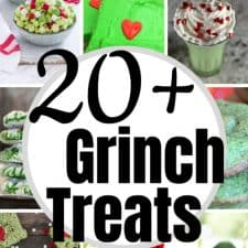 20+ Grinch Treats for a Grinch Movie Night