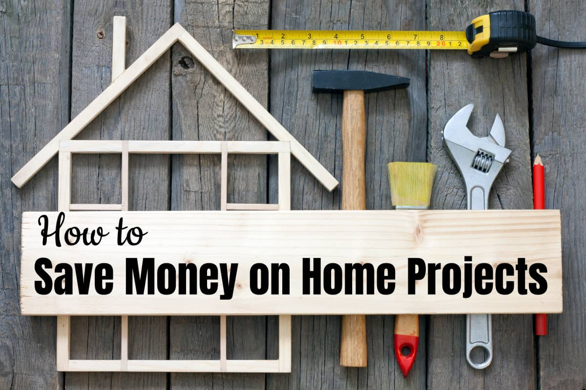 Look, being a homeowner is expensive--and stuff keeps breaking. If you're new to homeownership or you've had one for a while, this is How to Save Money on Home Projects. #nerdymammablog #homeimprovement