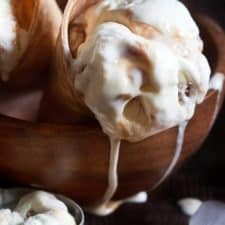 Vegan Butterbeer Ice Cream