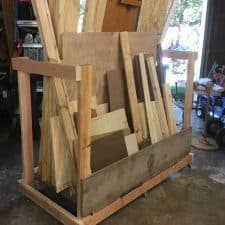 How to Make a Scrap Wood Cart Made From Scrap Wood