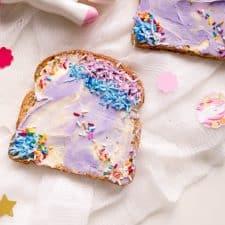 Unicorn Toast
