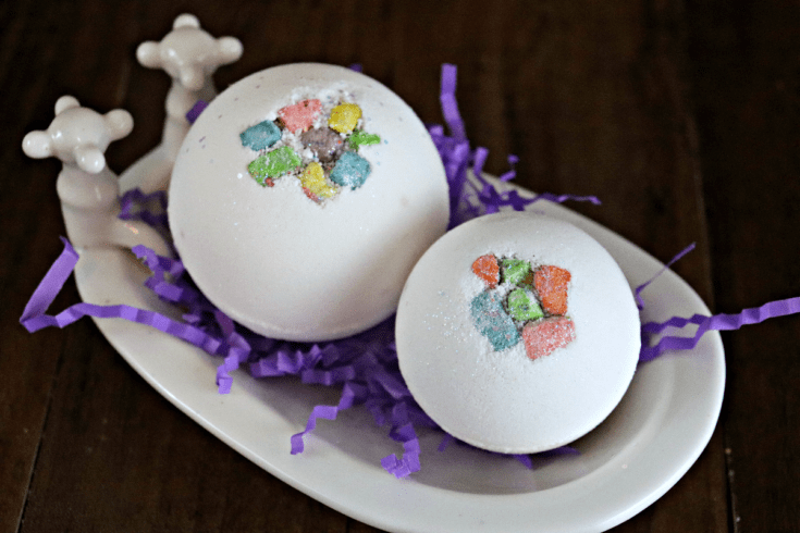 Marshmallow Bath Bombs