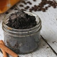 Easy DIY Cinnamon Coffee Body Scrub