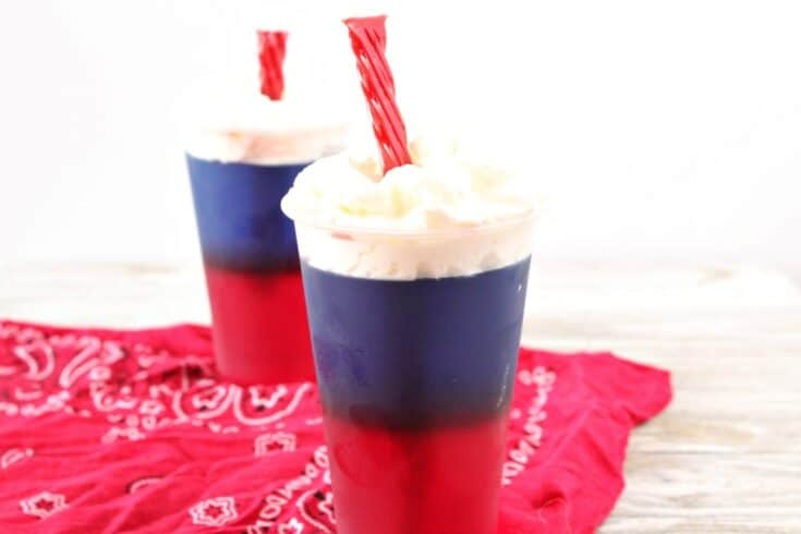 Firecracker Jello Cups