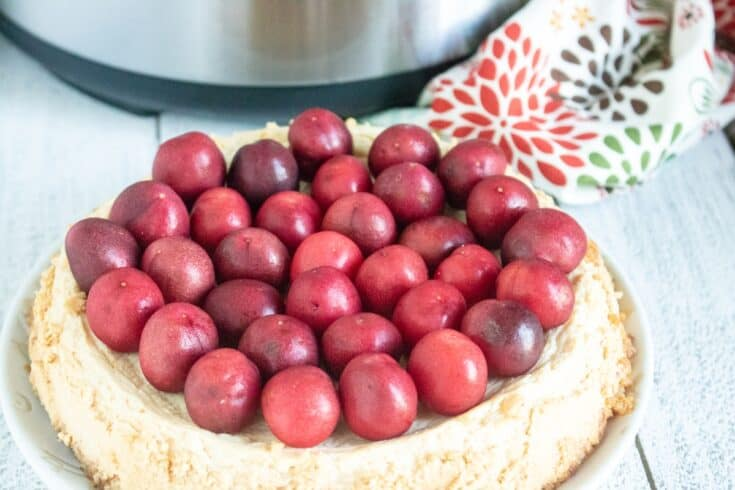 Gluten-Free Instant Pot Cheesecake