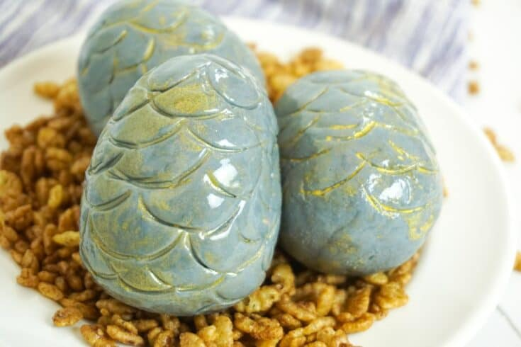 Harry Potter Dragon Egg Cake Balls