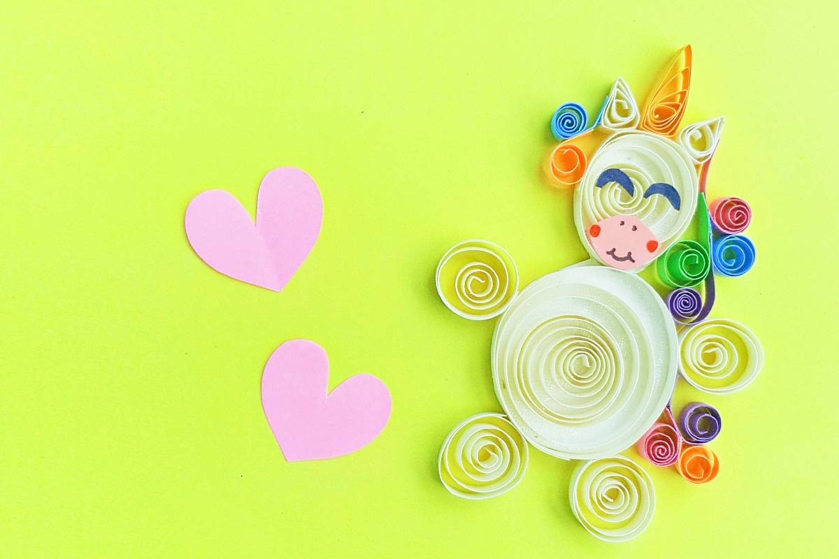 First, let me start by saying, I absolutely loved making this Paper Quilled Unicorn Craft. Simple, fun and way easier than I thought--it's such a cool result, I'm going to quill EVERYTHING. #nerdymammablog #papercraft #craft #unicorn #quilling #quilled #quillcrafting