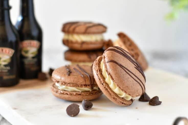 Bailey's Macaron Cookies