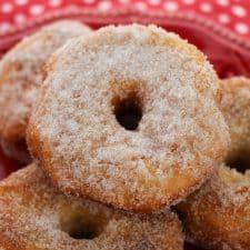 Simple Cinnamon-Sugar Biscuit Donut Recipe