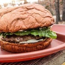 Colossal Campfire Burger