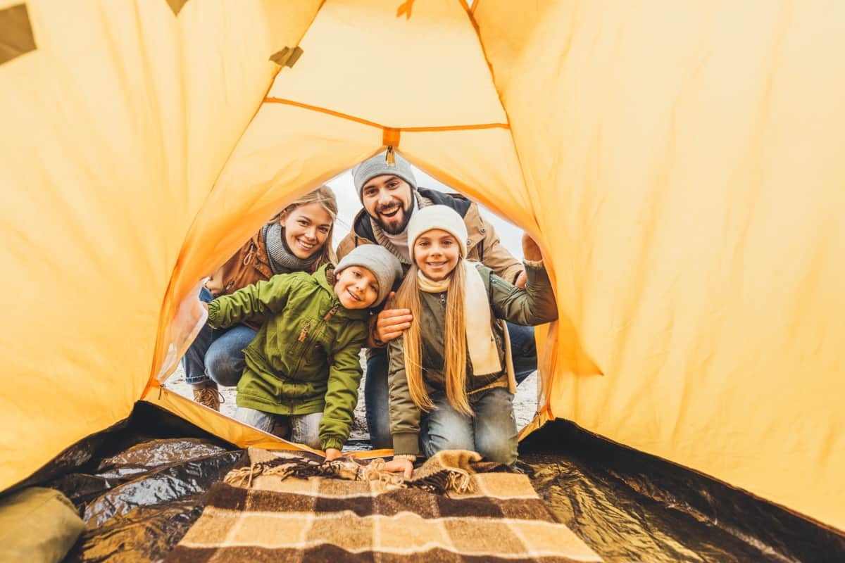 Doing something with your children is always going to be a little more complicated than ever. Here's What You Need to Know Before Going Camping With Kids. #nerdymammablog #camping #campingwithkids