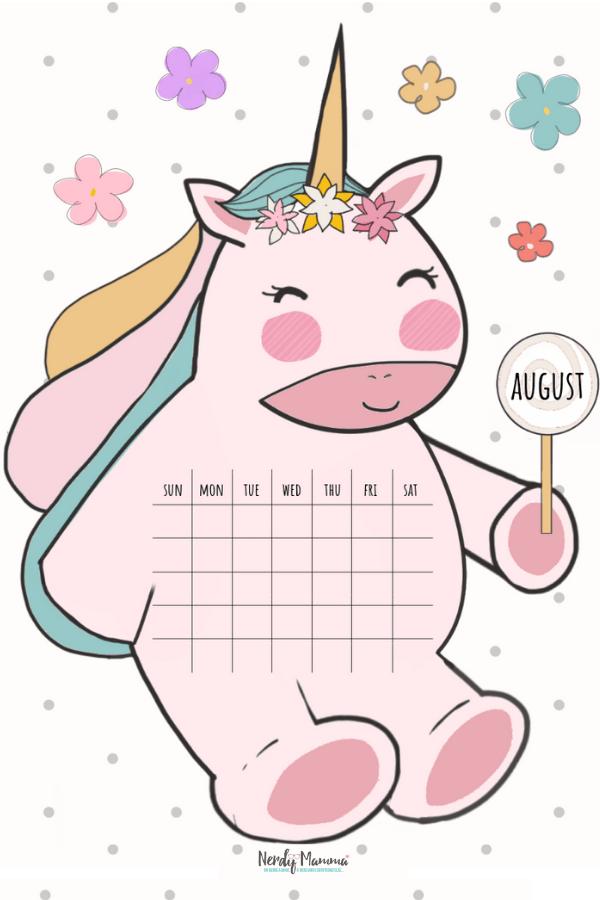 August Unicorn