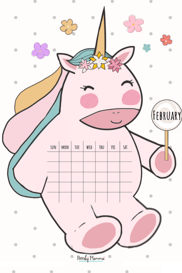 February Unicorn