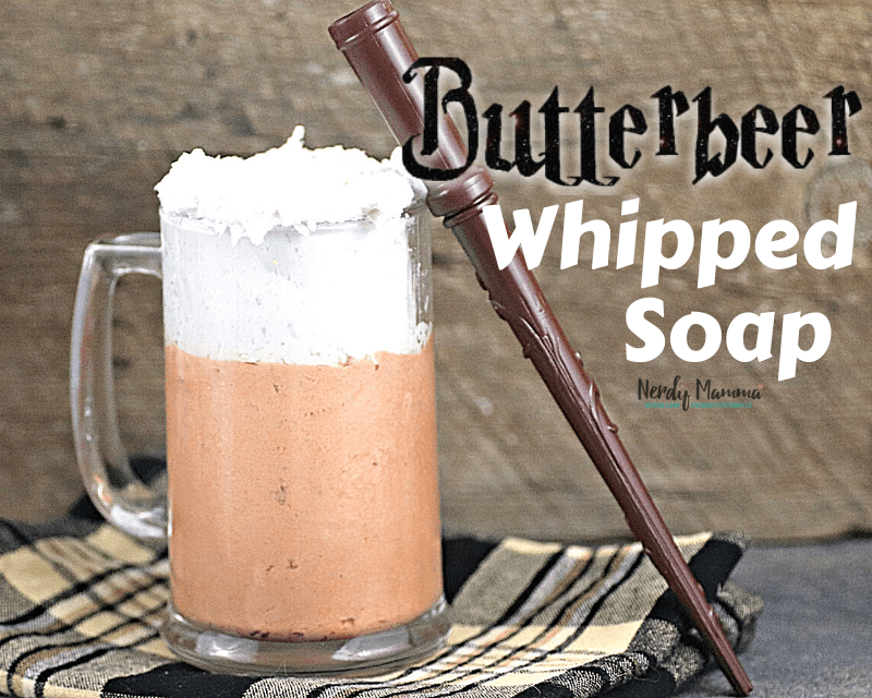 Butterbeer Whipped Soap
