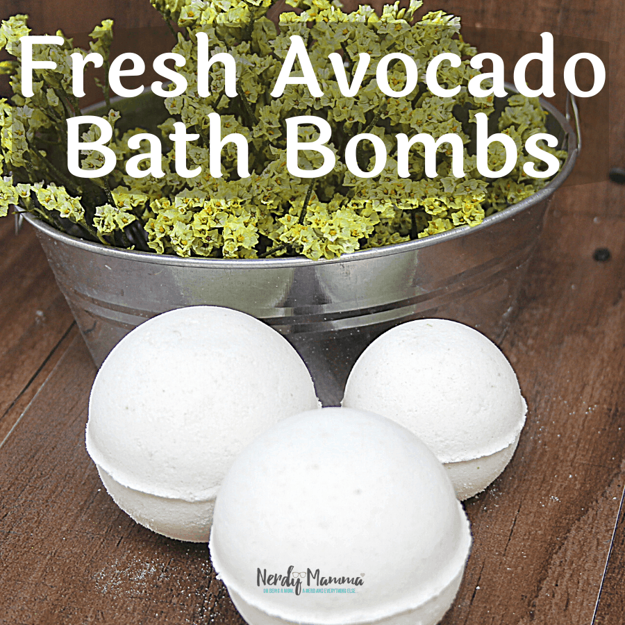 Fresh Avocado Bath Bombs