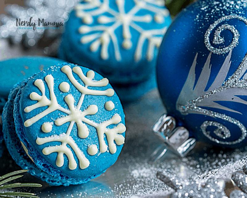 Snowflakes Macaron