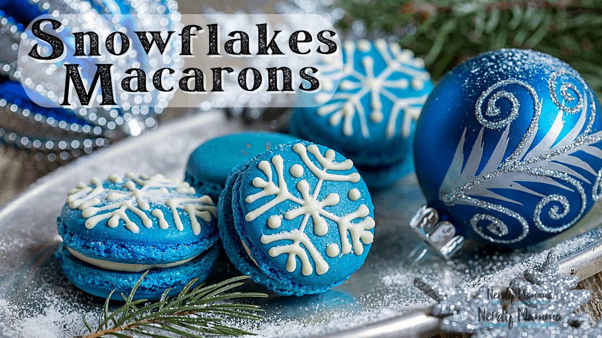 Easy Snowflakes Macaron Recipe