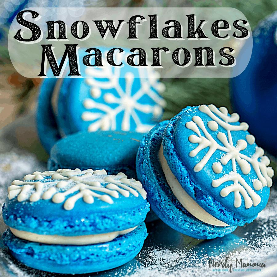 Snowflakes Macaron Recipe