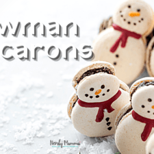 Snowman Macarons Recipe – Delicious Frosties