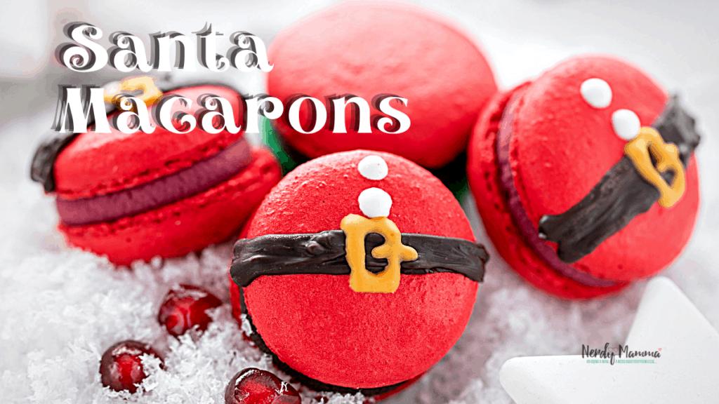 Easy Santa Macaron Recipe
