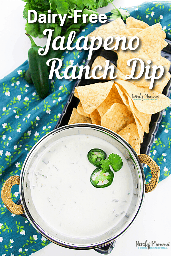 Dairy-free Jalapeno Ranch Dip Recipe