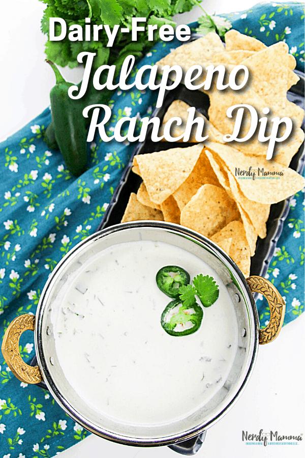 Dairy-free Jalapeno Ranch Dip Recipe
