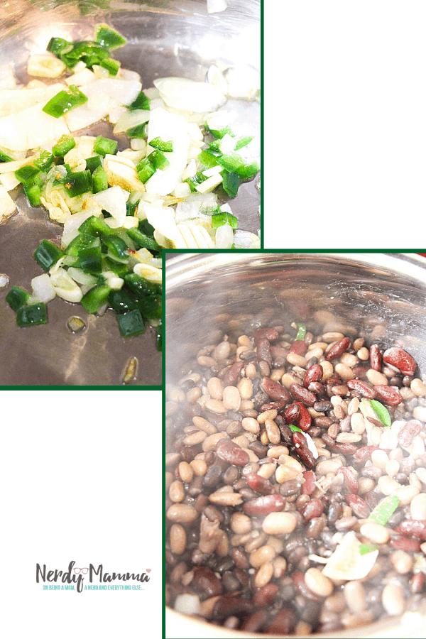Vegan chili easy cooking