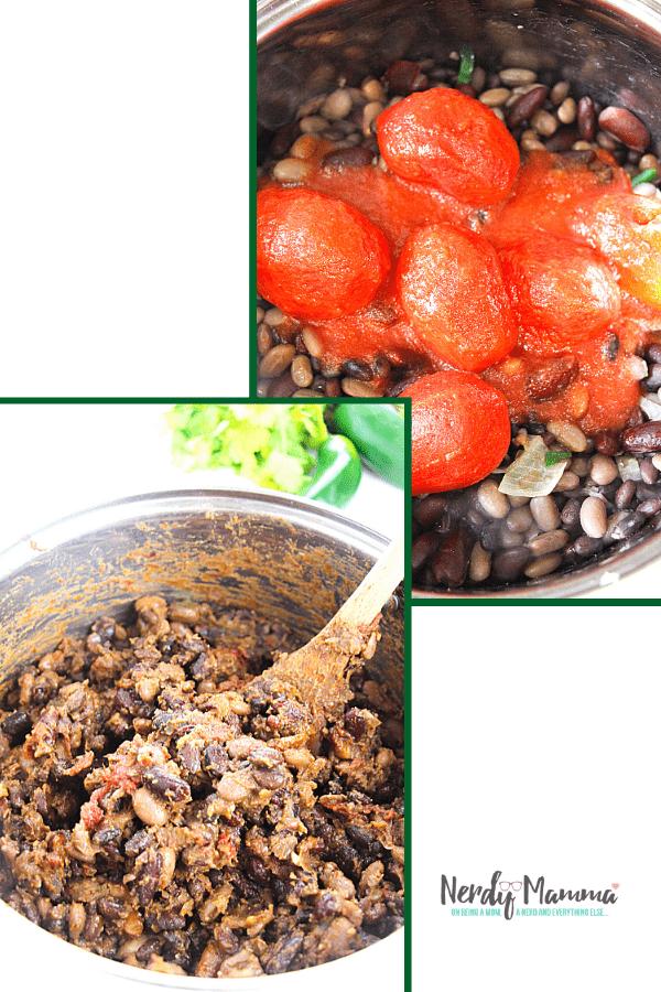 How to cook vegan chili