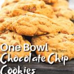 One Bowl Cookies