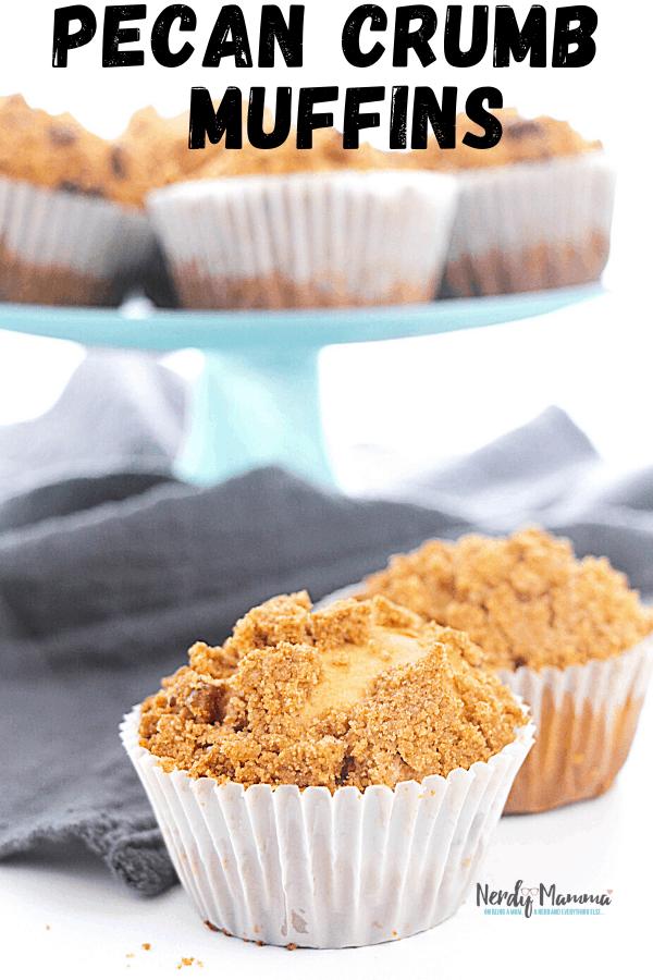 Pecan Crumb Muffins