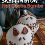 Jack Skellington Hot Cocoa Bombs