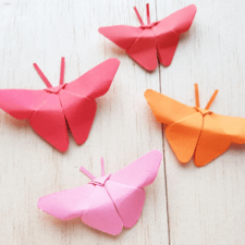 Origami Butterfly – The Easiest and Best Way to Make It